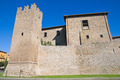 Fortified walls. Tuscania. Lazio. Italy. - PhotoDune Item for Sale
