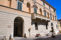 Bruschi-Falgari palace. Tarquinia. Lazio. Italy. - PhotoDune Item for Sale