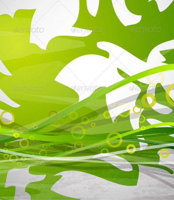 Vector Abstract Nature Background - Nature Conceptual