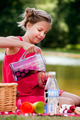 Teenage girl on a picknick - PhotoDune Item for Sale
