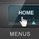 Website Horizontal Menus - GraphicRiver Item for Sale