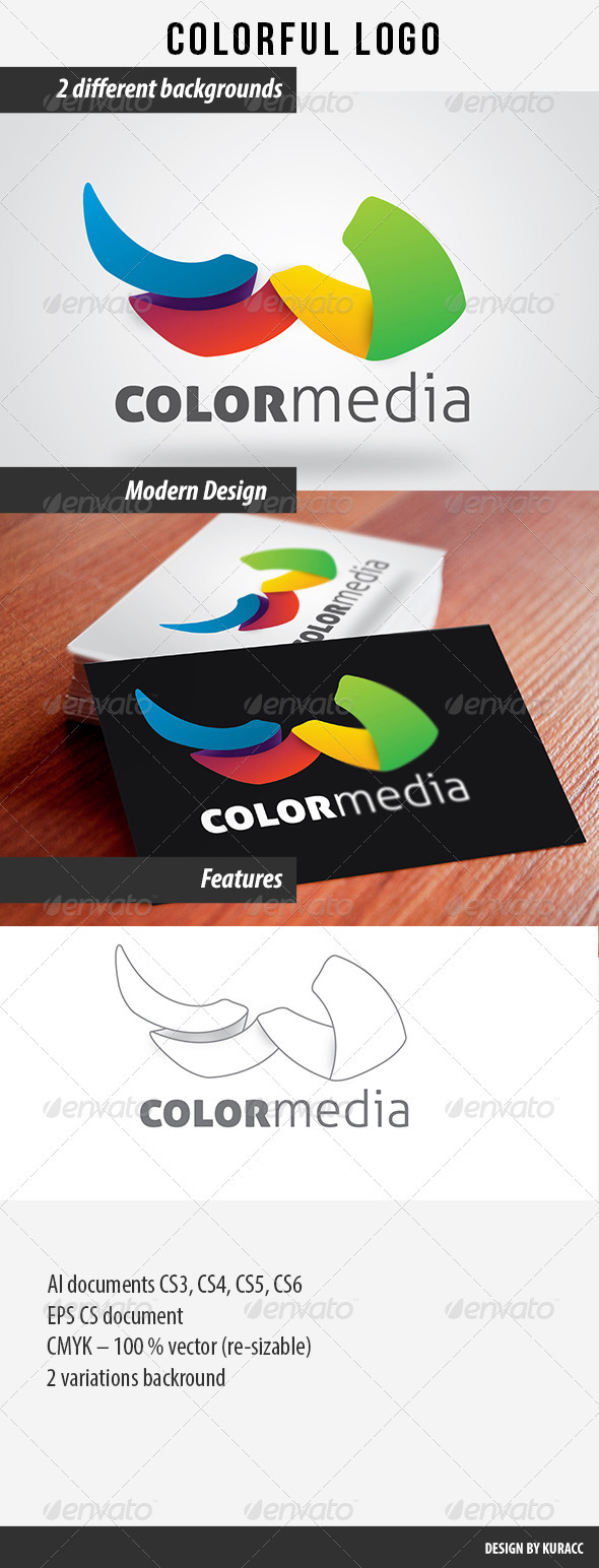 GraphicRiver Colorful Logo 2827052
