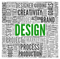 Design concept in tag cloud - PhotoDune Item for Sale