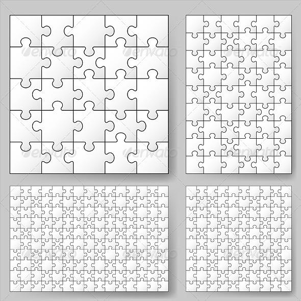 GraphicRiver Puzzle 2836259