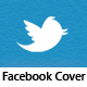 Twitter Addict - Facebook Timeline Cover - GraphicRiver Item for Sale