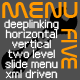 MenuFive - deeplinking two level slide menu - ActiveDen Item for Sale