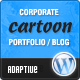 Cartoon Wordpress Theme
