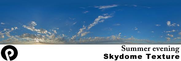 3DOcean Summer Evening Sky Texture 101757