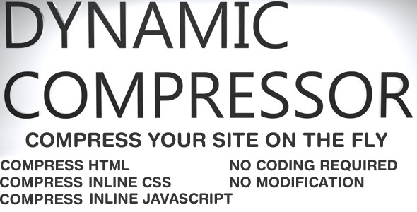 CodeCanyon Dynamic Website Compressor 2838376