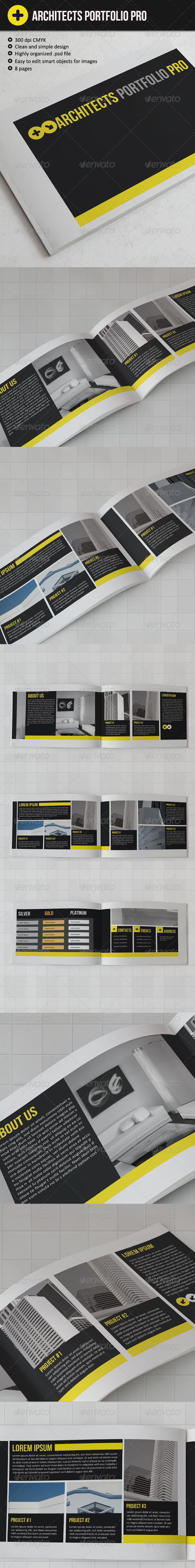 GraphicRiver Architects Portfolio Pro 2827768