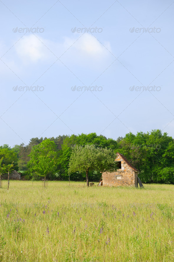 French landscape - Stock Photo - Images