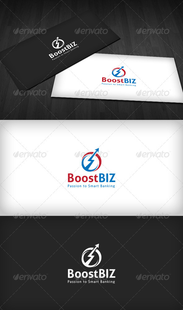 Boost Business Logo - Vector Abstract
