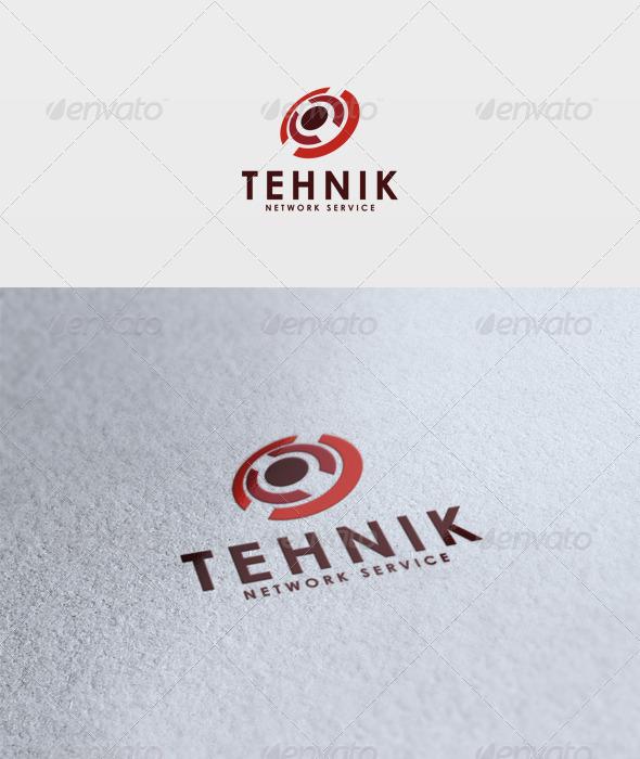 Tehnik Logo - Vector Abstract