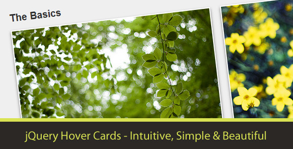 CodeCanyon jQuery Hover Cards 2839807