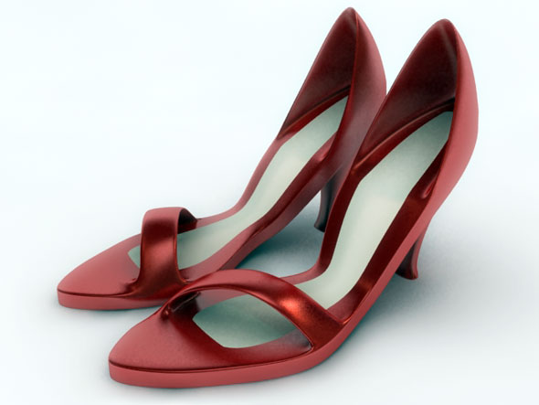 3DOcean Ladies Sandal 3Ds Max 102171