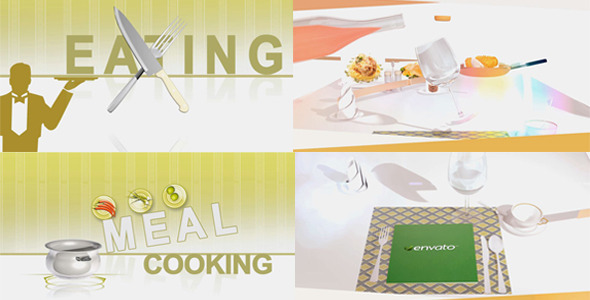 VideoHive Cooking intro opener 2830677