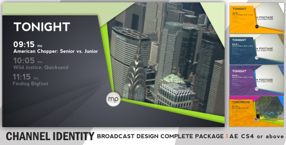 Broadcast Complete Package Channel Identity