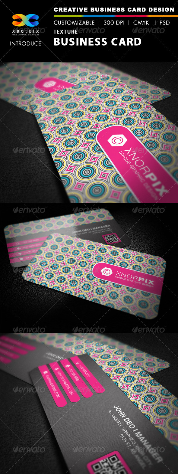 Texture Business Card - Corporate Business Cards