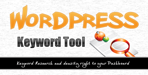 CodeCanyon Wordpress Keyword Tool Plugin 2840111