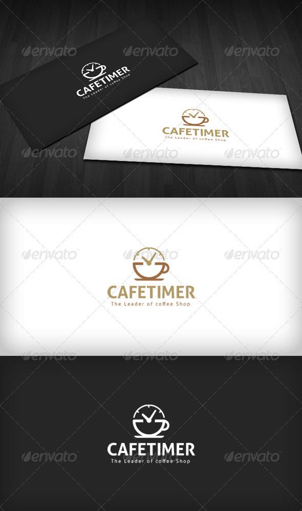 GraphicRiver Cafe Timer Logo 2840125