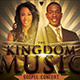 The Kingdom Music: Gospel Concert Flyer Template - GraphicRiver Item for Sale