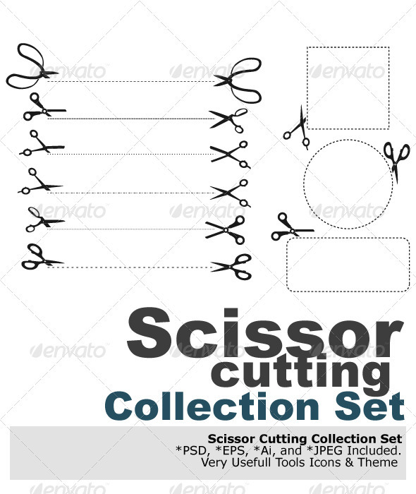 GraphicRiver Scissor Cutting 2841823