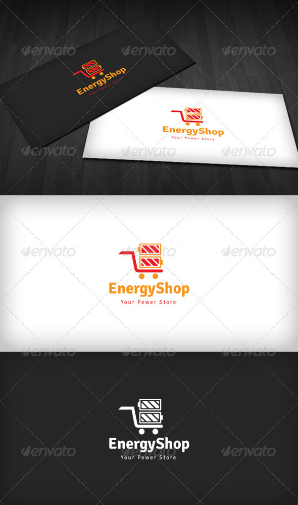Energy Shop Logo - Symbols Logo Templates