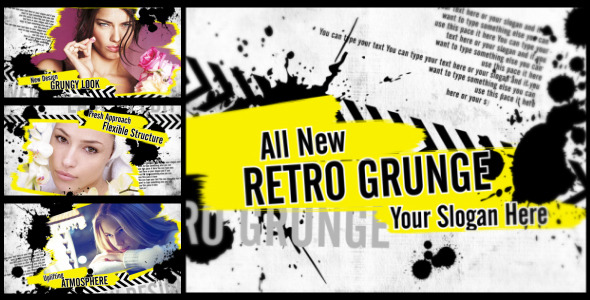 After Effects Project - VideoHive Retro Grunge 2843720