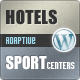 Guesthouse - Hotel & Sport Center 2in1 WordPress Theme - ThemeForest Item for Sale