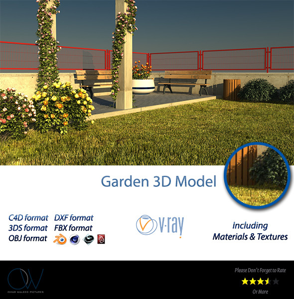 3DOcean Public Garden 2844863