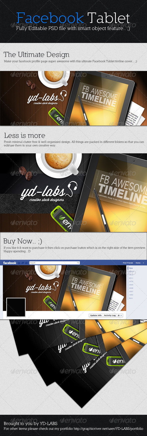 GraphicRiver Facebook Tablet 2845038