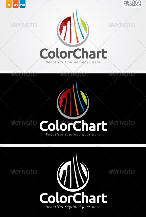 Color Chart - Symbols Logo Templates