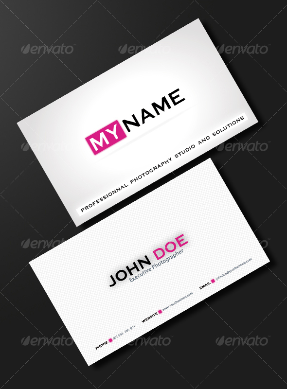 GraphicRiver PURE & CLEAN BUSINESS CARD 102364