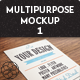 5 Multipurpose Closeup Mock Up Pack 01 - GraphicRiver Item for Sale