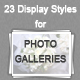 23 Display Styles for Photo Galleries - GraphicRiver Item for Sale