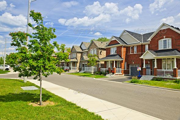 PhotoDune Suburban homes 2847239
