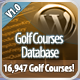 Golf Courses Database for Wordpress