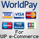 WorldPay Gateway kwa ajili WP E-Commerce