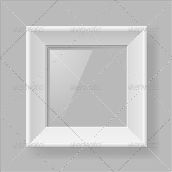 White frame - Backgrounds Decorative