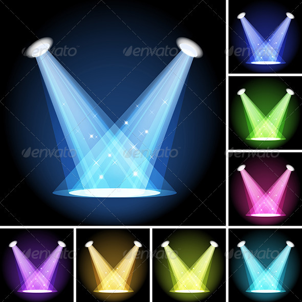 Stage Light - Backgrounds Decorative