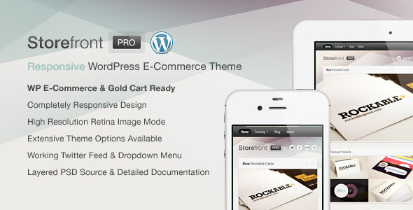 Storefront Pro for WordPress e-Commerce - Preview