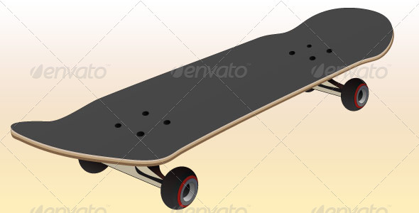 Skateboard - Sports/Activity Conceptual