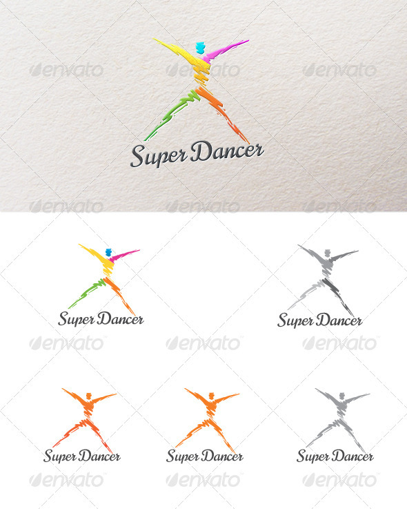 GraphicRiver Abstract Dancer 2843428