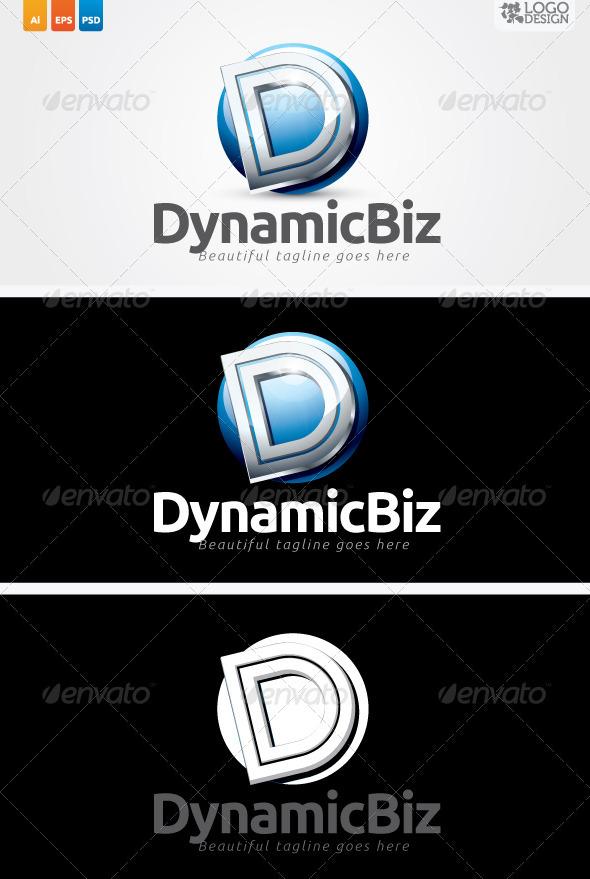 DynamicBiz - Letters Logo Templates