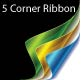 5 Corner Ribbon - GraphicRiver Item for Sale