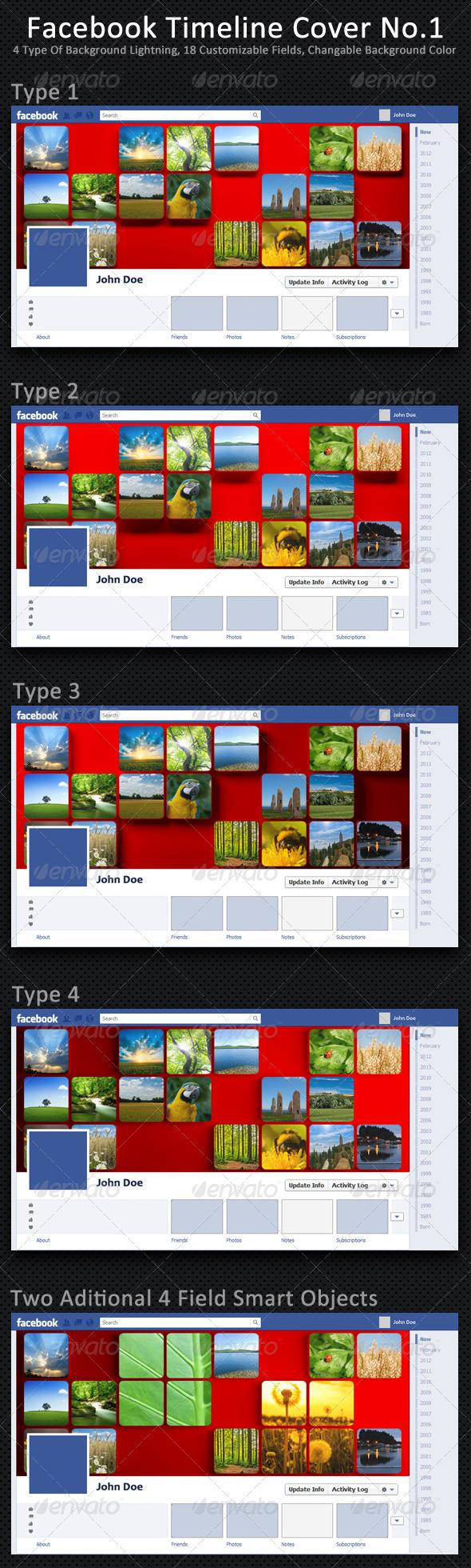GraphicRiver Facebook Timeline Cover No.1 2853148