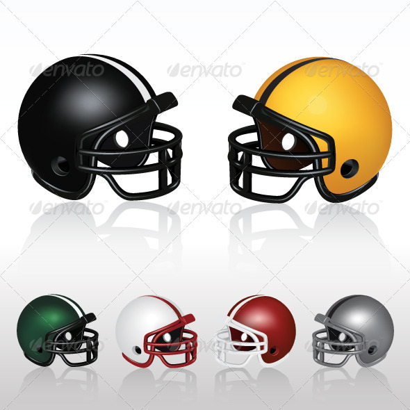 Football Helmets - Sports/Activity Conceptual