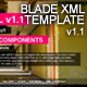 BLADE XML Full Website Template - ActiveDen Item for Sale