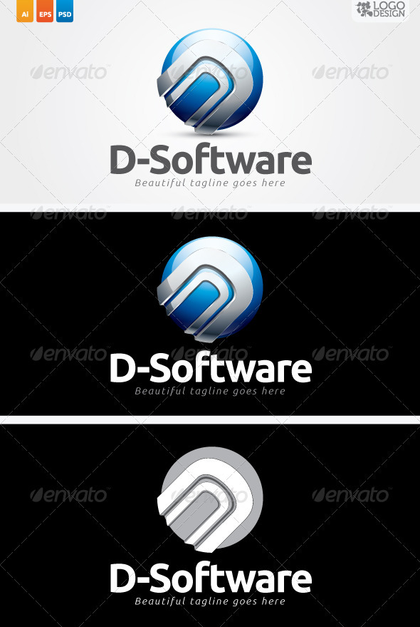 D-Software - Letters Logo Templates