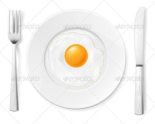 Scrambled egg - Backgrounds Decorative